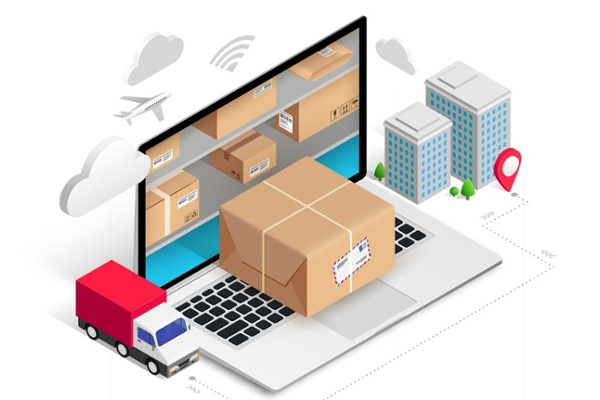 Parcel Shipping Software Concept