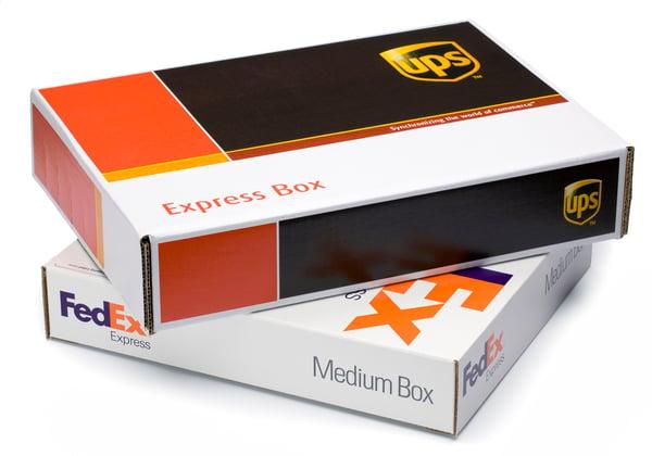 FedEx vs UPS boxes