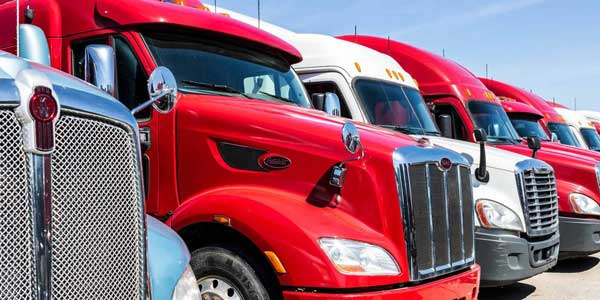 Choose a LTL Freight Carrier - Image of trucks